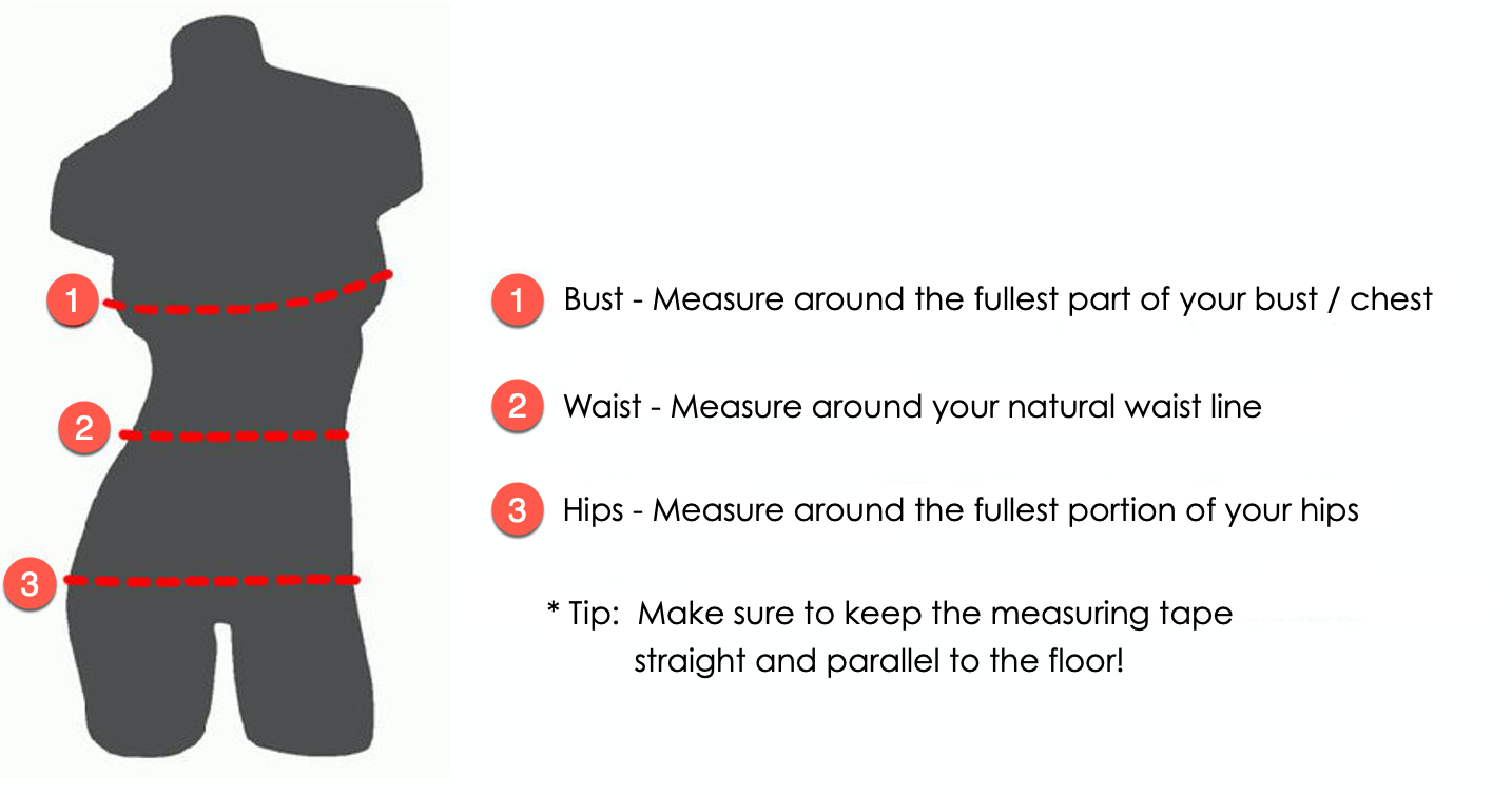 Kapreeza Measurement Instructions