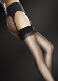 Sensual Sheer Basic White Stockings