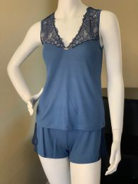 Paris Blue Lounge Two-Piece Set