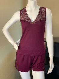 Paris Cherry Lounge Two-Piece Set