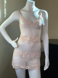 Roma Cappuccino Lace Babydoll