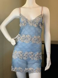 Roma Baby Blue Lace Babydoll